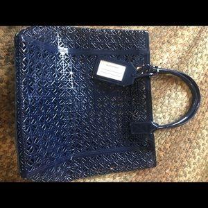 Tory Burch Plastic Jelly Shopper Tote Shoulder Bag